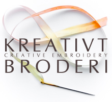 Miniprojekt - Tulpan Orange - Kreativt Broderi - Creative Embroidery of Sweden - Webshop